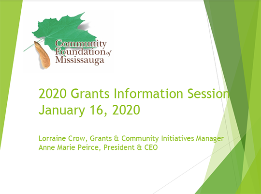 2020 Grants Information Session Thumbnail